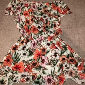 Women's off the shoulder romper